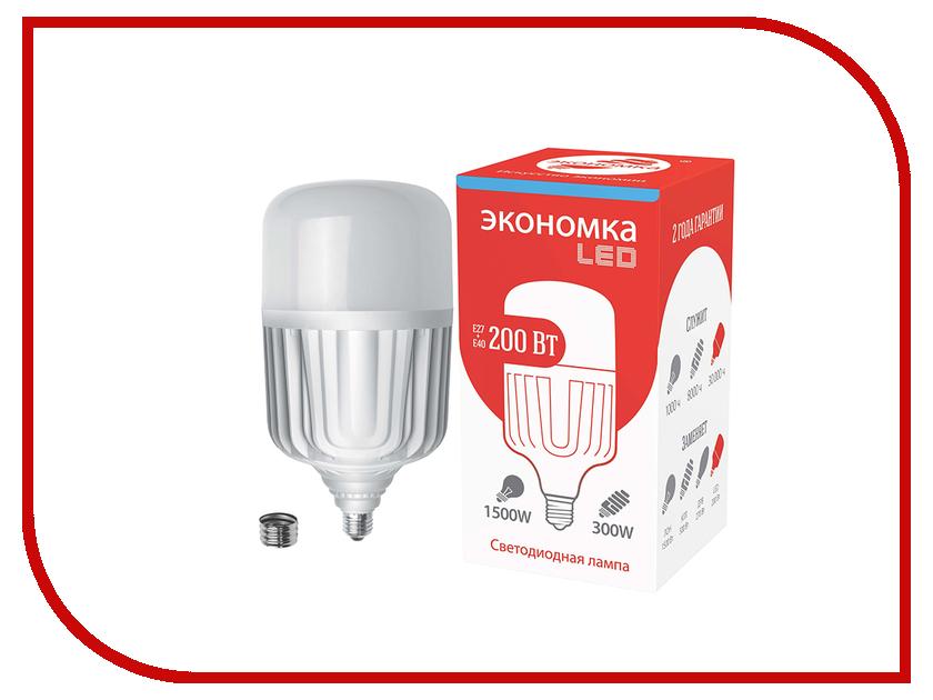 Лампочка Экономка 200W E40 6500K 15300Lm Eco200wHWLEDE4065 лобзик союз лбс 4065