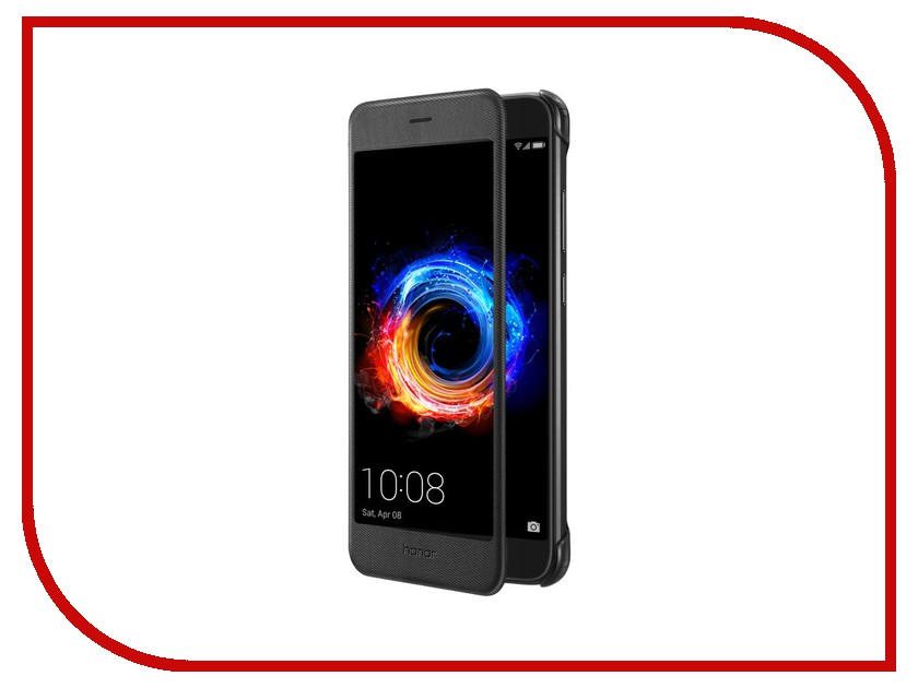 Аксессуар Чехол Huawei Honor 8 Pro Smart Cover Black