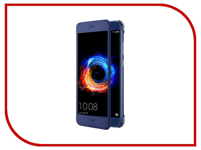 Аксессуар Чехол Huawei Honor 8 Pro Smart Cover Blue