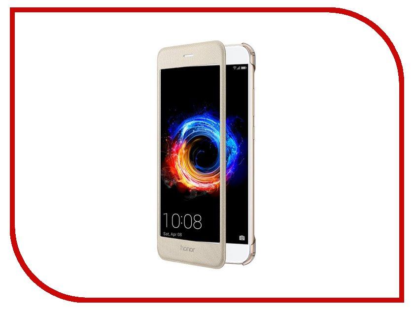 Аксессуар Чехол Huawei Honor 8 Pro Smart Cover Gold 51991953 сотовый телефон huawei honor 8 pro gold