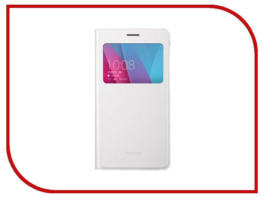 Аксессуар Чехол Huawei Honor 8 Smart Cover White сотовый телефон huawei honor 8 pro black