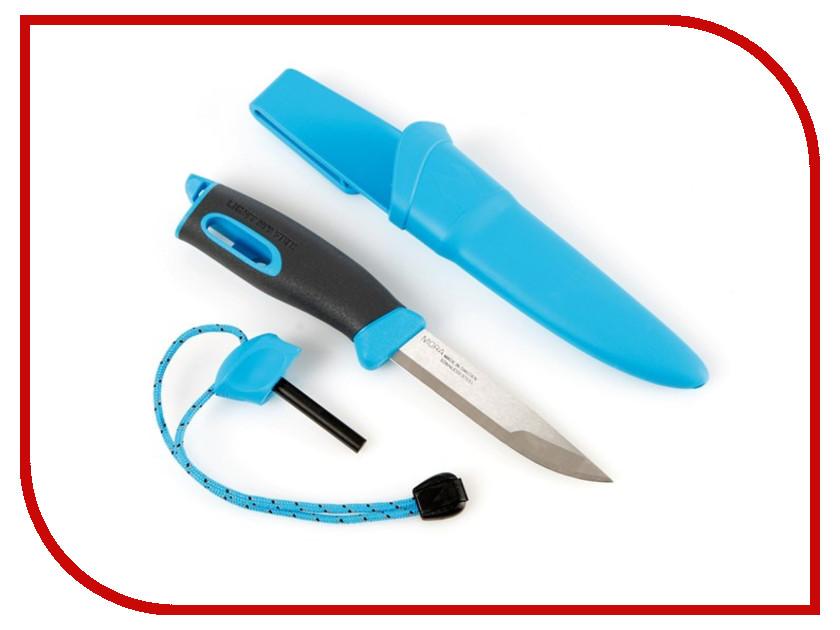 Light My Fire Swedish FireKnife Mora Light-Blue 12112710 ловилка light my fire spork original цвет голубой металлик серебристый 17 см 2 шт