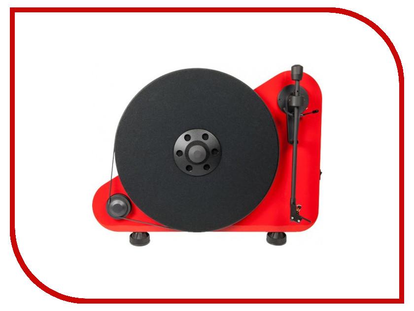 Проигрыватель виниловых дисков Pro-Ject VT-E L Red