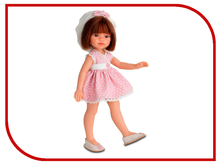 Кукла Antonio Juan Кукла Эмили летний образ, брюнетка 2581Br кукла antonio juan кукла рамон blue 3360b