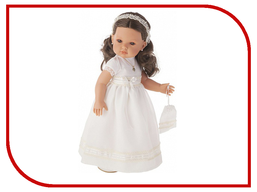 Кукла Antonio Juan Белла Первое причастие, брюнетка Cream 2800Br рюкзак asgard city р 5437 р 5437 этноузор фиолет розов