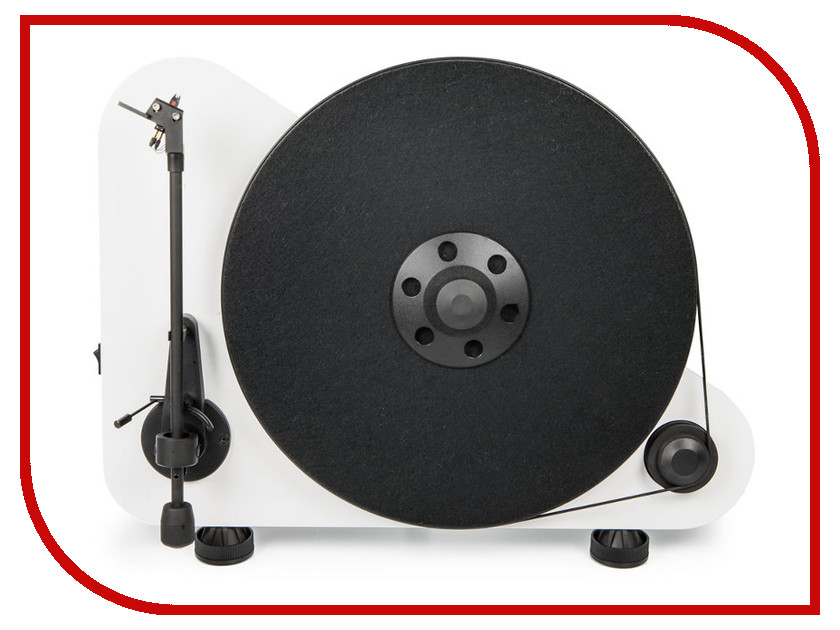 Проигрыватель виниловых дисков Pro-Ject VT-E R White