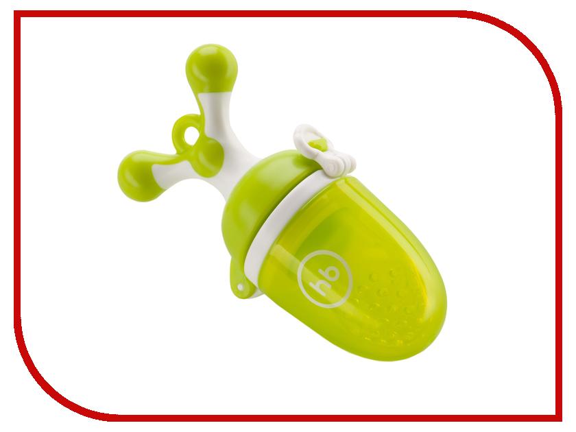 Ниблер с силиконовой сеточкой Happy Baby Lime 15009