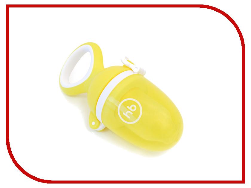 Ниблер Happy Baby 2.0 с силиконовой сеточкой Yellow 15035
