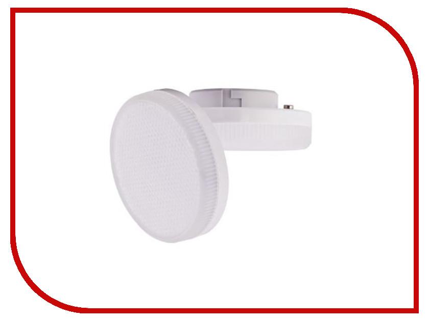 Лампочка Ecola LED Premium GX53 6W Tablet 220V 4200K матовое стекло T5UV60ELC ecola ecola gx53 led 8003a светильник накладной ip65 прозрачный цилиндр металл 1 gx53 белый матовый 114x1