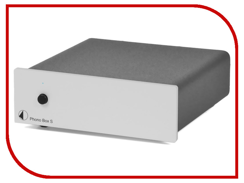 Фонокорректор Pro-Ject MM/MC Phono BOX S Silver