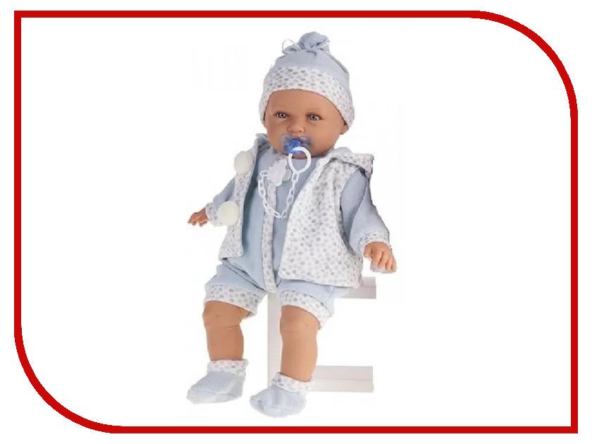 Кукла Antonio Juan Кукла Бенита Light Blue 1901B кукла munecas antonio juan бенита в голубом 55 см со звуком 1901b