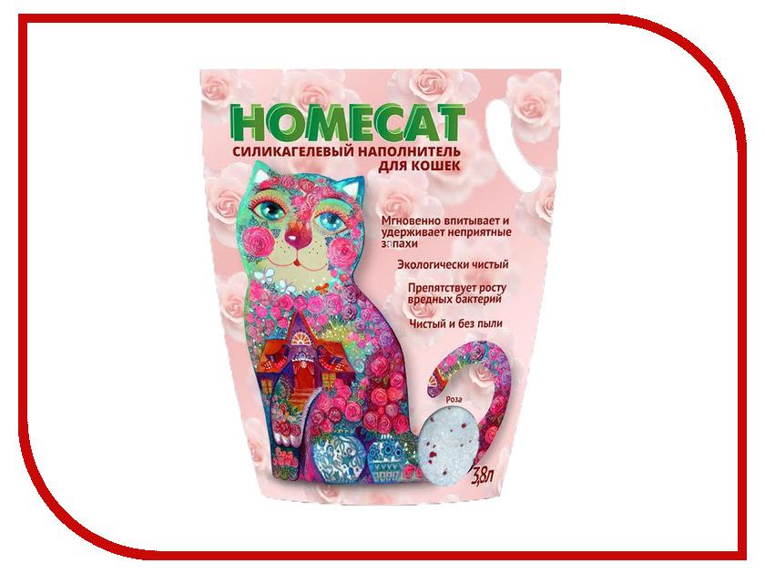 Наполнитель Homecat Роза 1.8kg 66346
