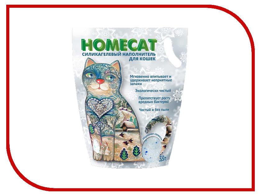 Наполнитель Homecat Морозная свежесть 1.8kg 66347