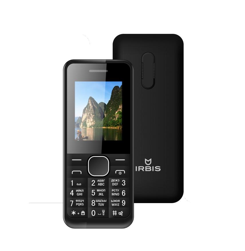 Сотовый телефон Irbis SF06 Black сотовый