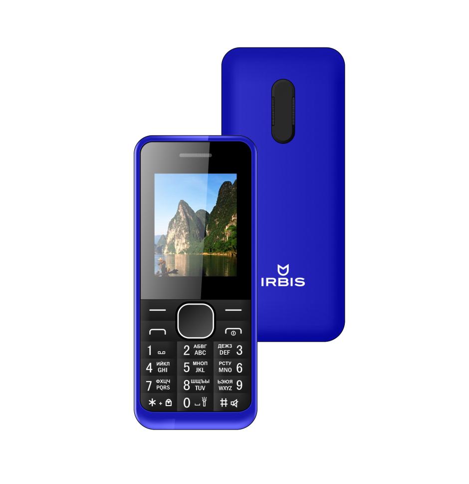 Сотовый телефон Irbis SF06 Blue irbis pb1c40