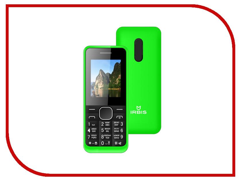 Сотовый телефон Irbis SF06 Green сотовый телефон irbis sf14 blue