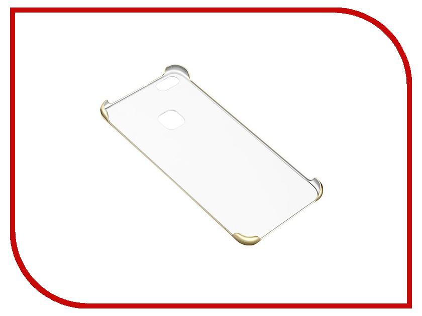 Аксессуар Чехол Huawei P10 Lite PC Case Gold 51992005