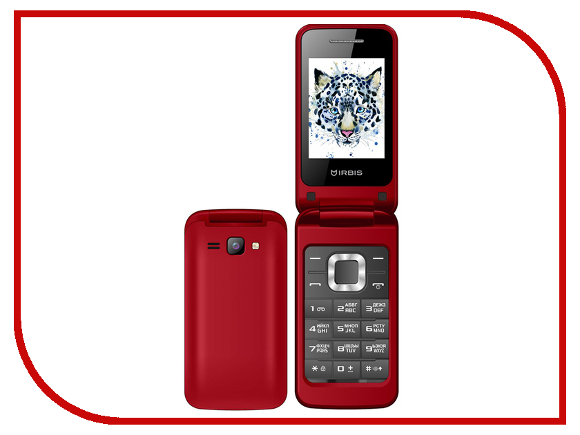 Сотовый телефон Irbis SF10 Red