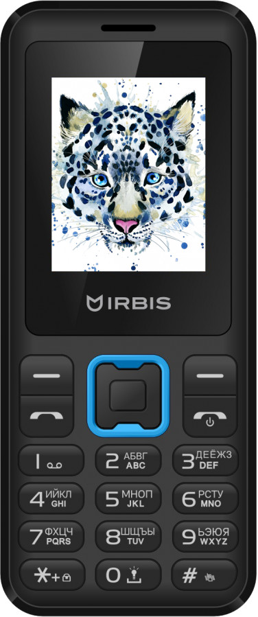 Сотовый телефон Irbis SF50X Black-Blue
