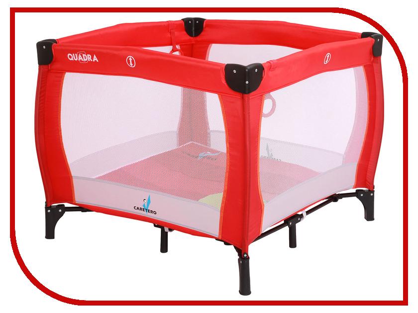 Манеж-кровать Caretero Quadra Red protective s pattern anti slip tpu case for lg optimus g pro 2 lg p72 transparent