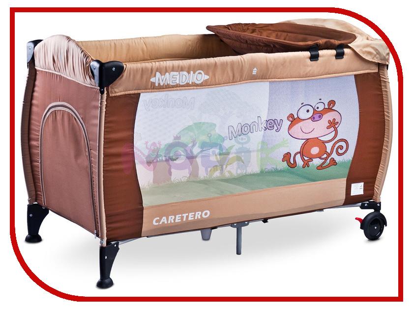 Манеж-кровать Caretero Medio Classic Beige зеркало medio