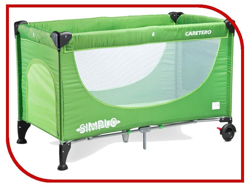 Манеж-кровать Caretero Simplo Green