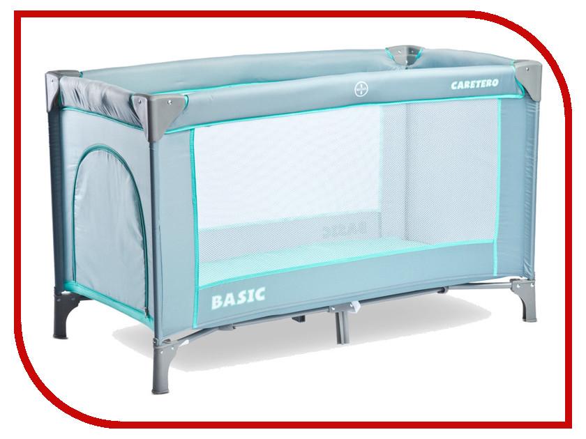 Манеж-кровать Caretero Basic Grey basic caretero