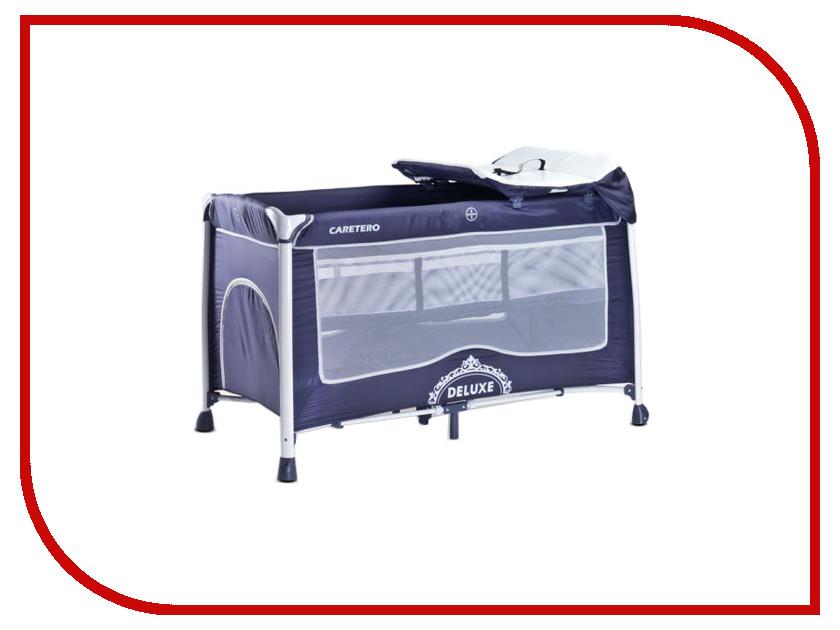 Манеж-кровать Caretero Deluxe Navy basic caretero