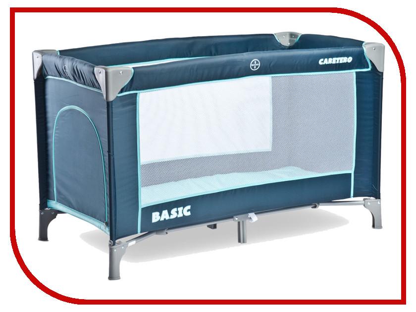 Манеж-кровать Caretero Basic Navy