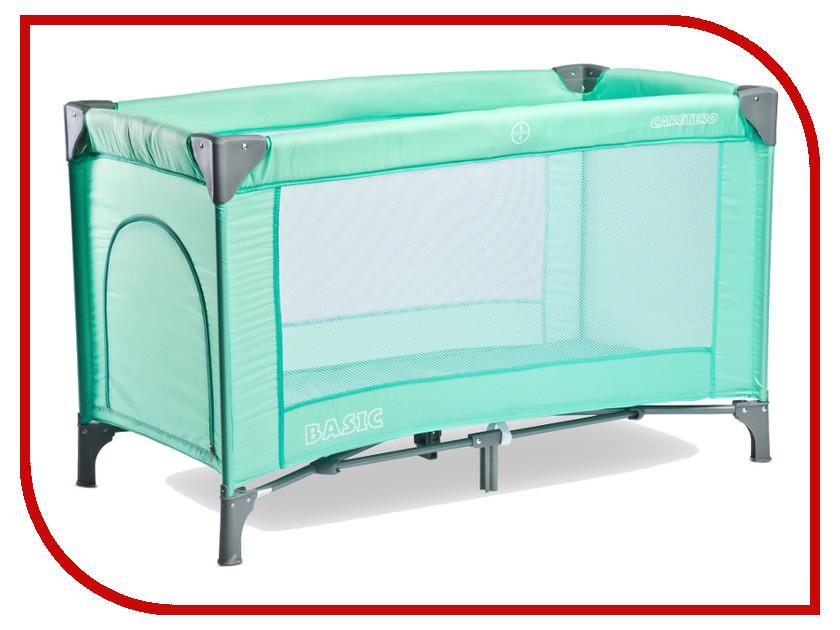 Манеж-кровать Caretero Basic Green
