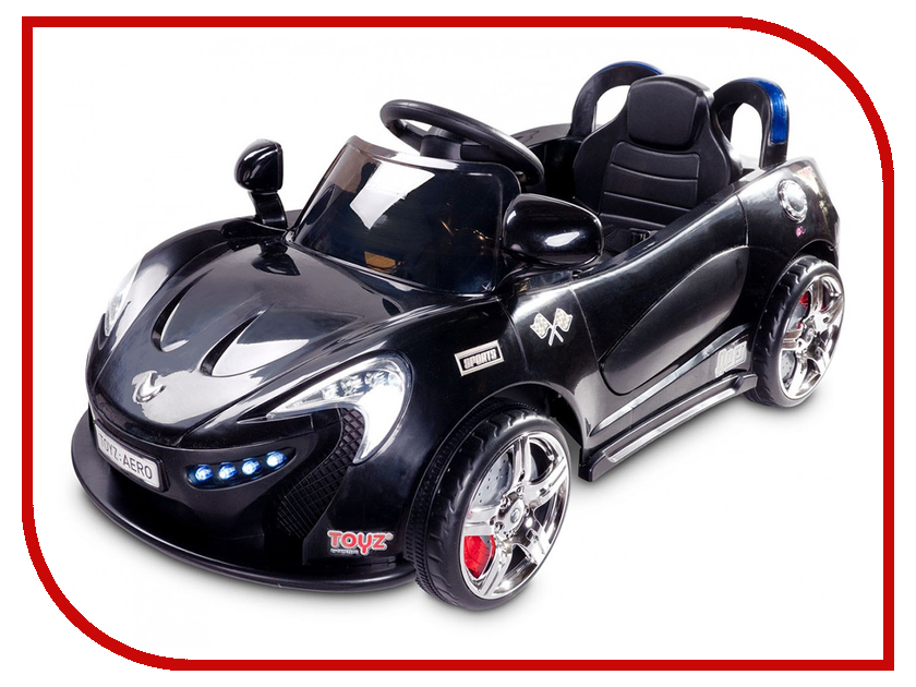 Электромобиль Caretero Toyz Aero Black