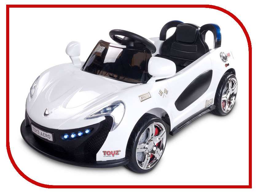 Электромобиль Caretero Toyz Aero White