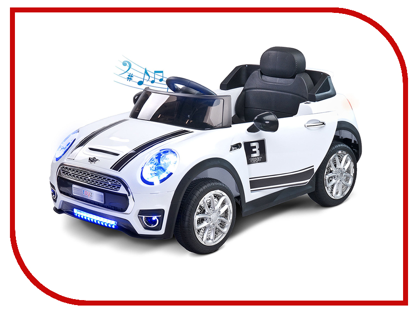 Электромобиль Caretero Toyz Maxi White
