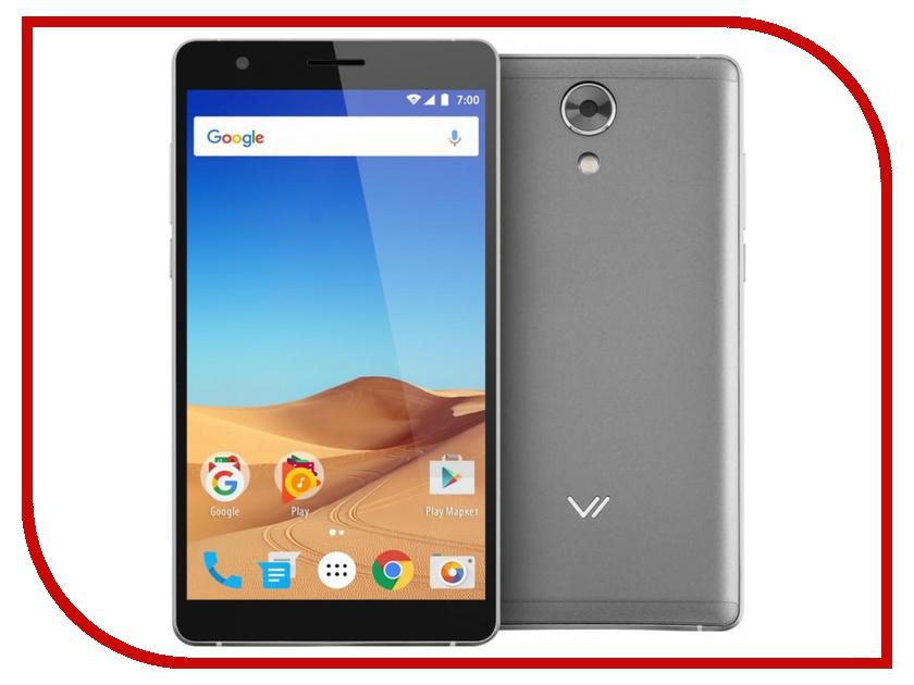 Сотовый телефон Vertex Impress Ra LTE Graphite сотовый телефон vertex impress dune lte red