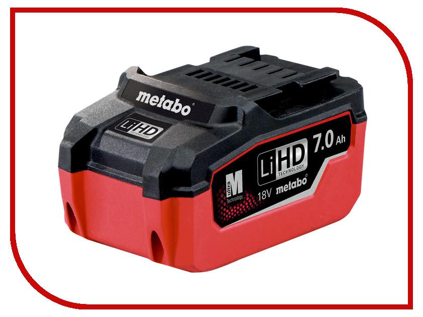 Аккумулятор Metabo LiHD 18 V 7.0 Ah 625345000
