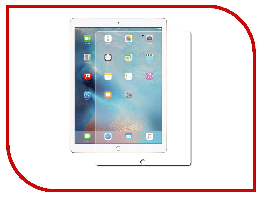 Аксессуар Защитное стекло Zibelino TG для iPad PRO 10.5 2017 ZTG-IPAD-PRO-2017 ipad pro 128