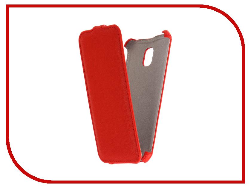Аксессуар Чехол Samsung Galaxy J3 2017 SM-J330F/DS Zibelino Classico Red ZCL-SAM-J3-2017-RED