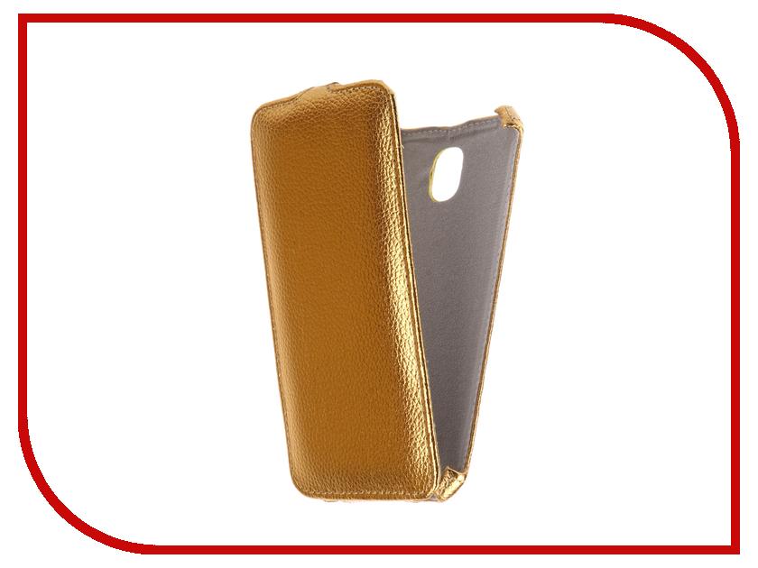 Аксессуар Чехол Samsung Galaxy J7 2017 SM-J730FM/DS Zibelino Classico Gold ZCL-SAM-J7-2017-GLD