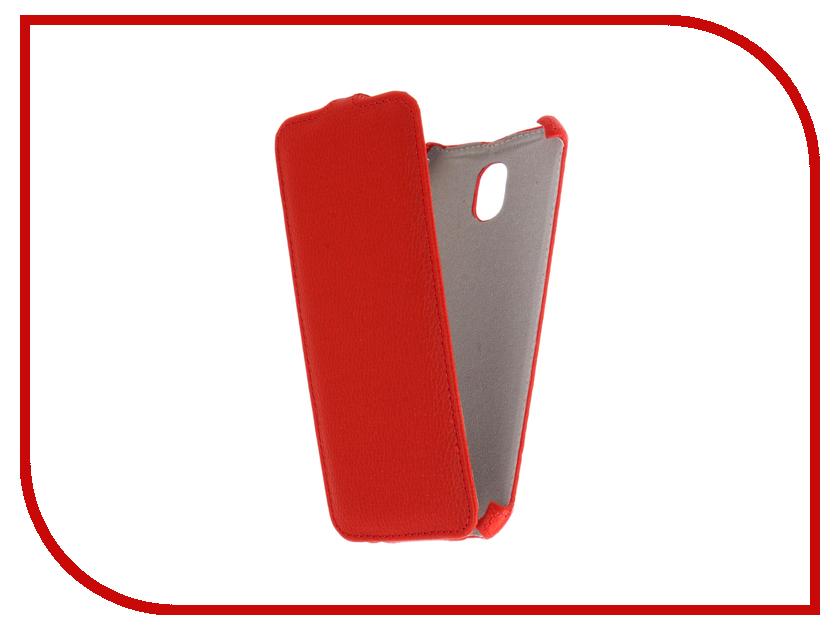 Аксессуар Чехол Samsung Galaxy J7 2017 SM-J730FM/DS Zibelino Classico Red ZCL-SAM-J7-2017-RED аксессуар чехол lenovo k10 vibe c2 k10a40 zibelino classico black zcl len k10a40 blk
