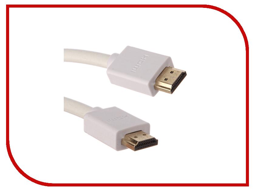 Аксессуар Greenconnect HDMI M/M v2.0 1.5m White GCR-HM761-1.5m аксессуар greenconnect hdmi m m v1 4 1 8m black red gcr hm350 1 8m