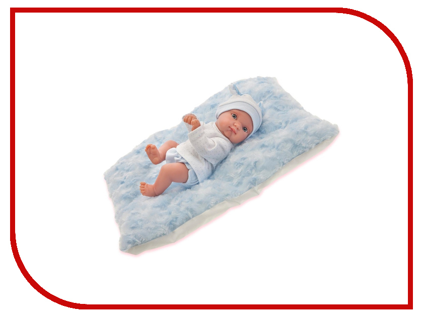 Кукла Antonio Juan Кукла Пепито мальчик, на голубом одеялке 3903B кукла antonio juan кукла ланита pink 1110p