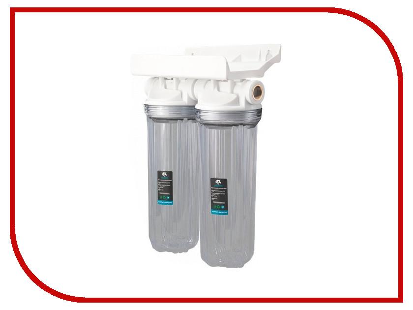Фильтр для воды Unicorn FH2P Duo 3/4 фильтр предварительной очистки unicorn fh2p 1 2 duo 10 2p duo 1 2