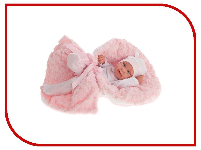 Кукла Antonio Juan Кукла-младенец Эдуарда Pink 5006P juan antonio кукла младенец карла в чемодане цвет одежды розовый