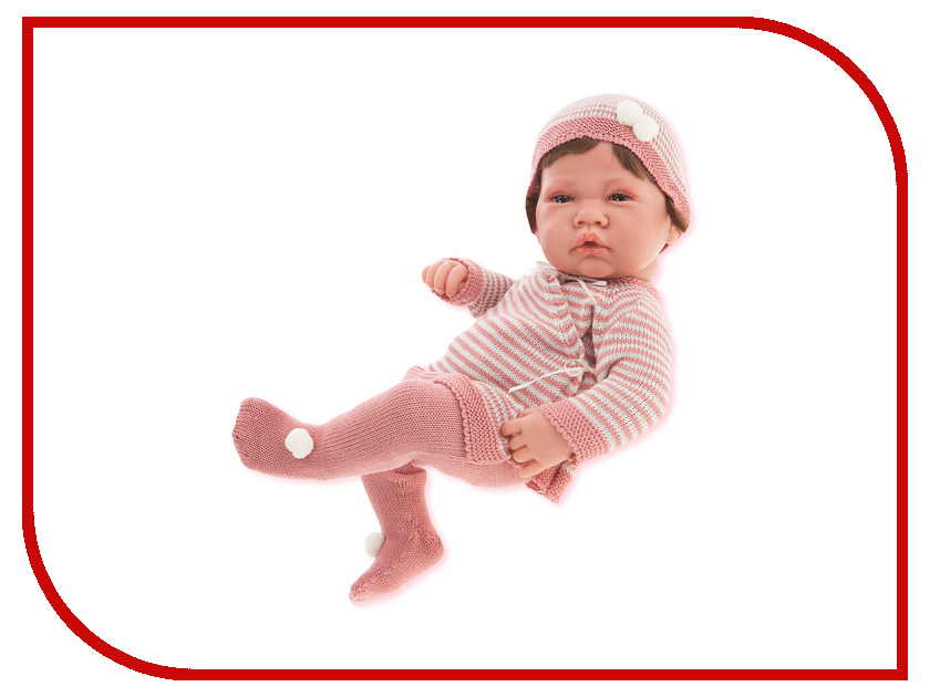 Кукла Antonio Juan Кукла-младенец Мануэла Pink 5014P кукла antonio juan кукла рамон blue 3360b