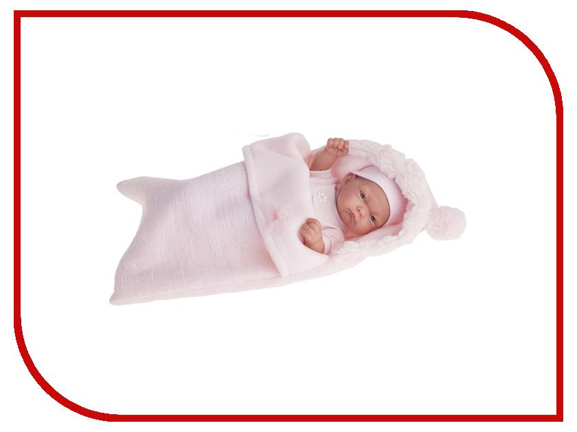 Кукла Antonio Juan Кукла-младенец Карла Pink 4066P juan antonio кукла младенец карла в чемодане цвет одежды розовый