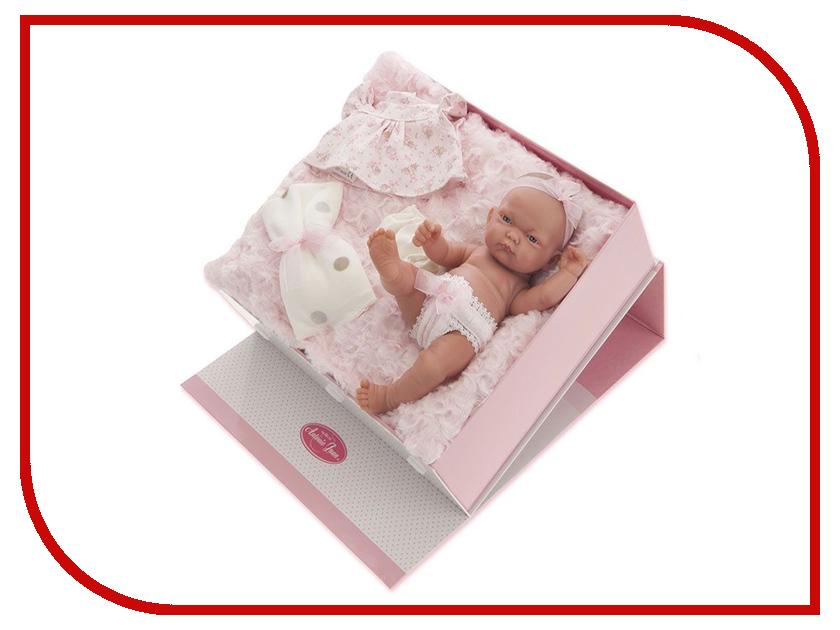 Кукла Antonio Juan Кукла-младенец Карла Pink 4068P juan antonio кукла младенец карла в чемодане цвет одежды розовый
