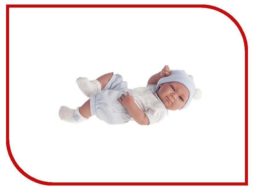 Кукла Antonio Juan Кукла-младенец Оли Light Blue 5051B juan antonio кукла младенец карла в чемодане цвет одежды розовый