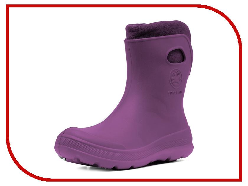 Сапоги Woodline Рысь ЭВА 869У Purple р.38-39