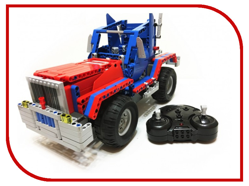 Конструктор CaDA Technic Convoy Truck RC49602 pilotage конструктор cada technic dump truck