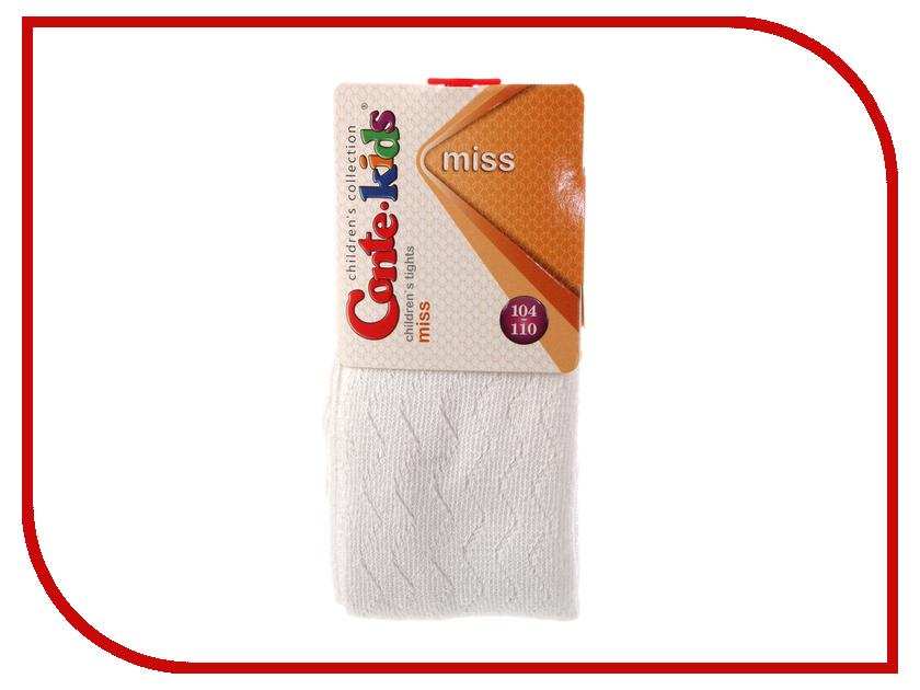 Колготки Conte Kids Miss 7С-80СП 104-110 White 268